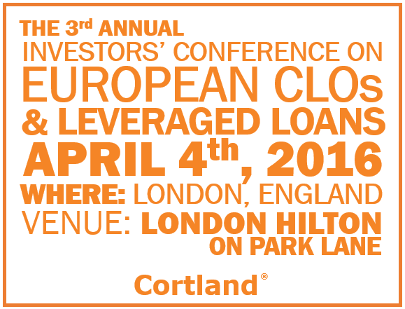 Investors Conference on European CLOs and Leveraged Loans London 2016