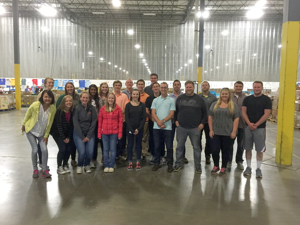 Cortland Cares volunteers at Gleaner's